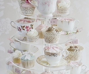 cupcake, desserts, and sweet image