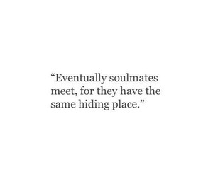 quotes and soulmates image