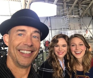 the flash, melissa benoist, and danielle panabaker image