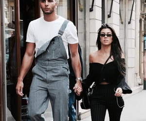 fashion, street style, and kourtney kardashian image