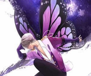 anime, yuri on ice, and viktor nikiforov image