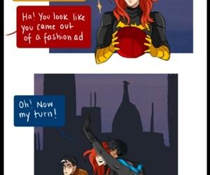 batgirl, DC, and red hood image