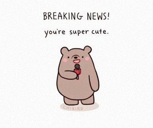 cute, bear, and chibird image