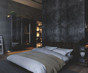 bedroom, home, and interior image