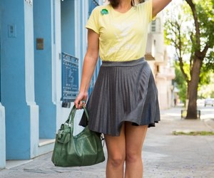 casual, modcloth, and skirt image