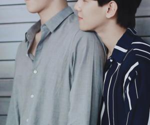 sehun, baekhyun, and exo image