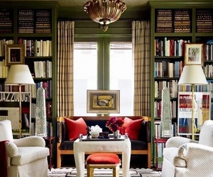 living room and book image