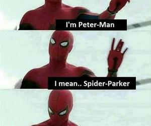 meme, peter parker, and Marvel image