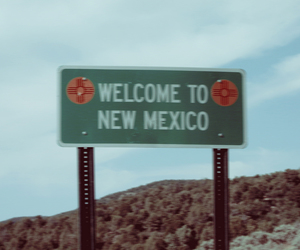 highway, new mexico, and road image