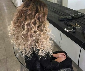 hair, blonde, and beauty image