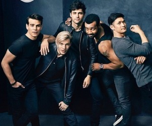 shadowhunters, matthew daddario, and isaiah mustafa image