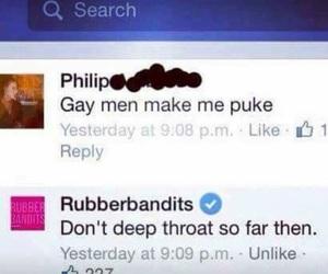 funny, gay, and haha image