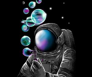 art, arte, and astronauta image