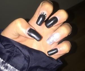 acrilic, black, and cool image