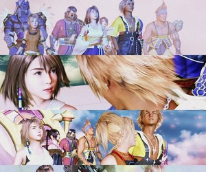 FFX, final fantasy, and video game image