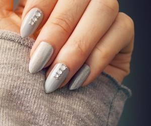 fashion, girly, and grey image