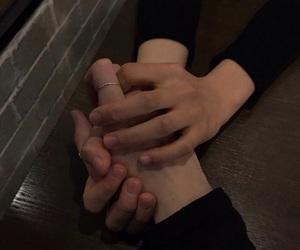 couples, love, and hand image