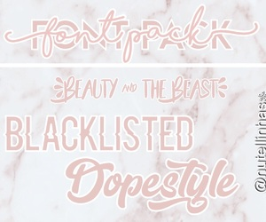 beauty and the beast, font, and pack image