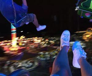fun, night, and light image