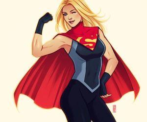 Supergirl, dc comics, and kara zor el image
