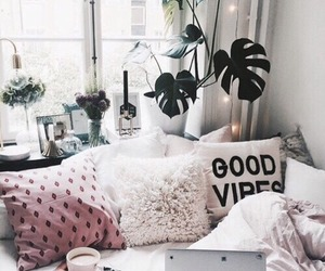 bed, luxury, and tumblr image
