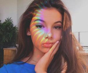 arco iris, girl, and girl tumblr image