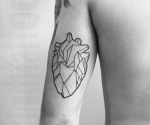 heart, art, and tatto image