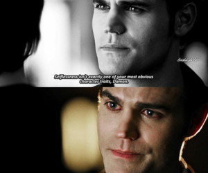 couples, tv series, and the vampire diaries image