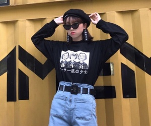alternative, asian, and clothes image