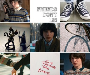 moodboard, stranger things, and finn wolfhard image