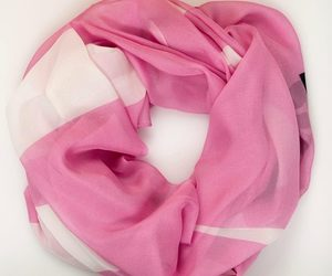 personalized scarf, silk scarves for women, and personalised silk scarves image