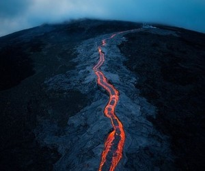 lava, nature, and photography image