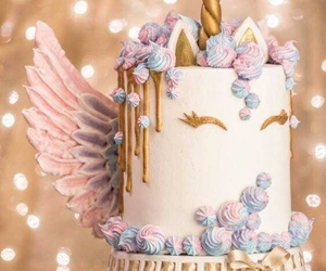 unicorn and cake image