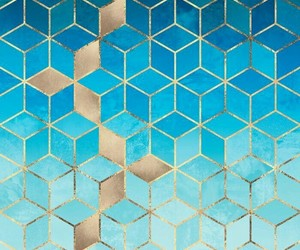 background, blue, and geometric image