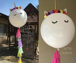balloon and unicorn image
