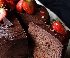chocolate, healthy, and vegan image