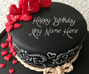 Birthday Cakes Images With Name And Photo ~ Happy birthday cake with name edit for facebook animehana