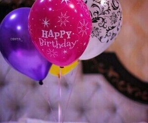balloon and happy birthday image