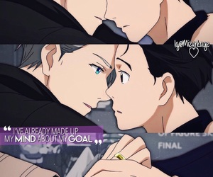 anime, victor, and love image