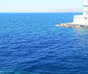 crete chania blue greece image