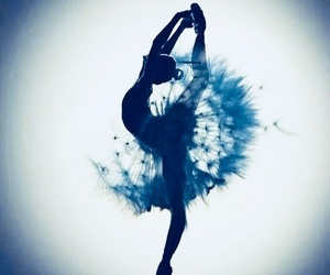 dance, ballet, and flowers image