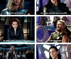 black widow, funny, and Marvel image