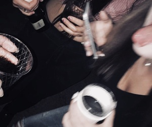 night, party, and drunk image