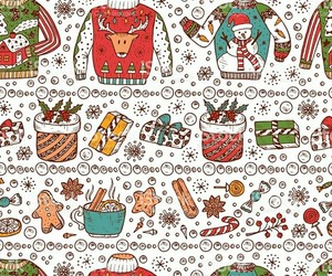candy canes, Cookies, and hot cocoa image