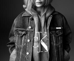 Calvin Klein, model, and lottie moss image