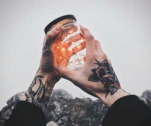 aesthetics, tattoo, and grunge image