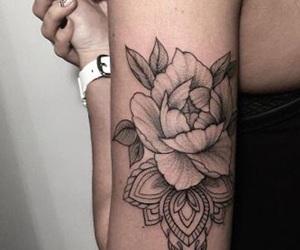 arm, beautiful, and tattoo image