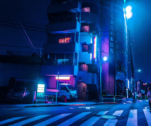 city, aesthetic, and night image