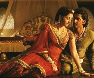 bollywood, hindi, and saree image