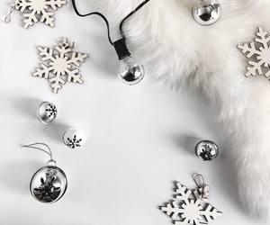 christmas, decoration, and light image